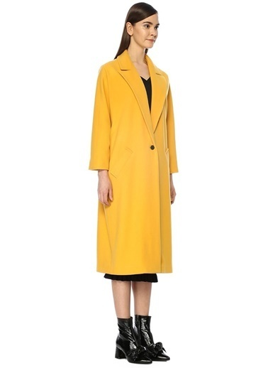 Beymen Club Palto Sarı